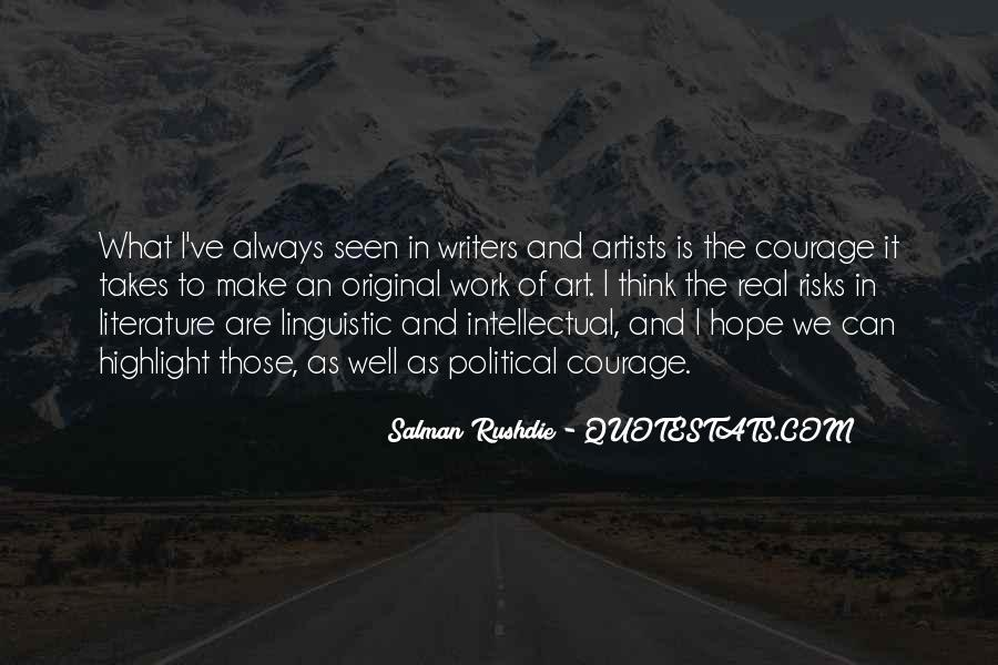 Quotes About The Art Of Literature #626304
