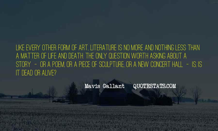 Quotes About The Art Of Literature #666913
