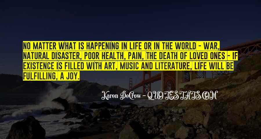 Quotes About The Art Of Literature #673779