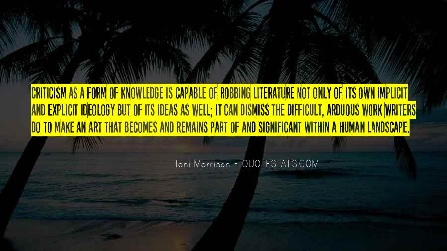 Quotes About The Art Of Literature #705523