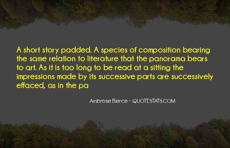 Quotes About The Art Of Literature #758981