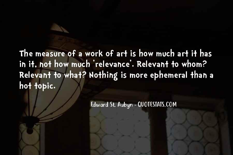 Quotes About The Art Of Literature #83040
