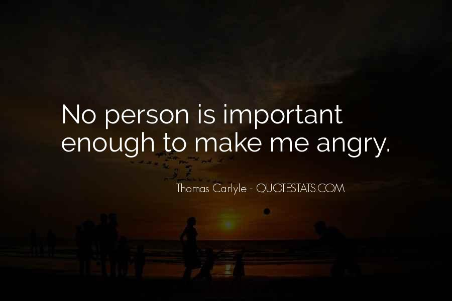 Important Person To Me Quotes #1567522