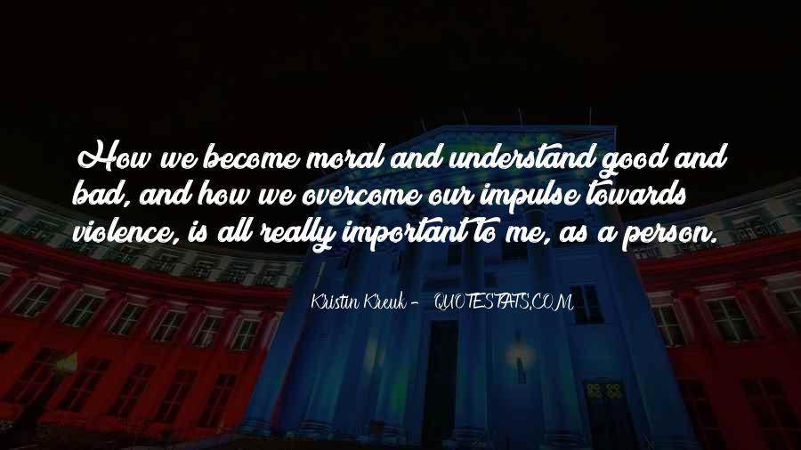 Important Person To Me Quotes #1684958