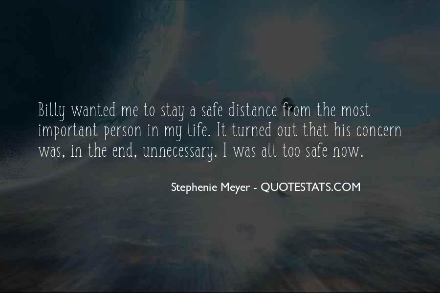 Important Person To Me Quotes #1780512