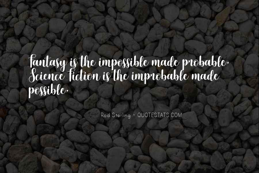 Impossible Into Possible Quotes #123001