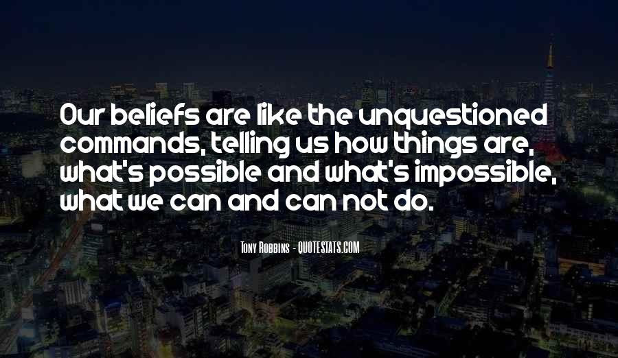 Impossible Into Possible Quotes #190647