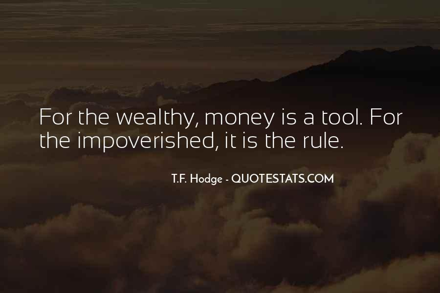 Impoverished Quotes #1027938
