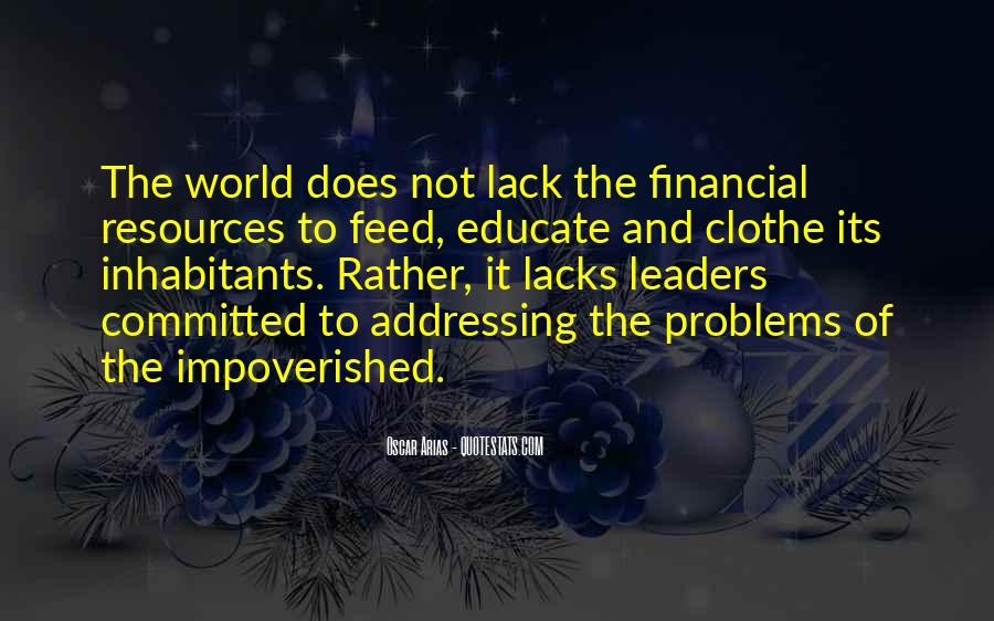 Impoverished Quotes #432035
