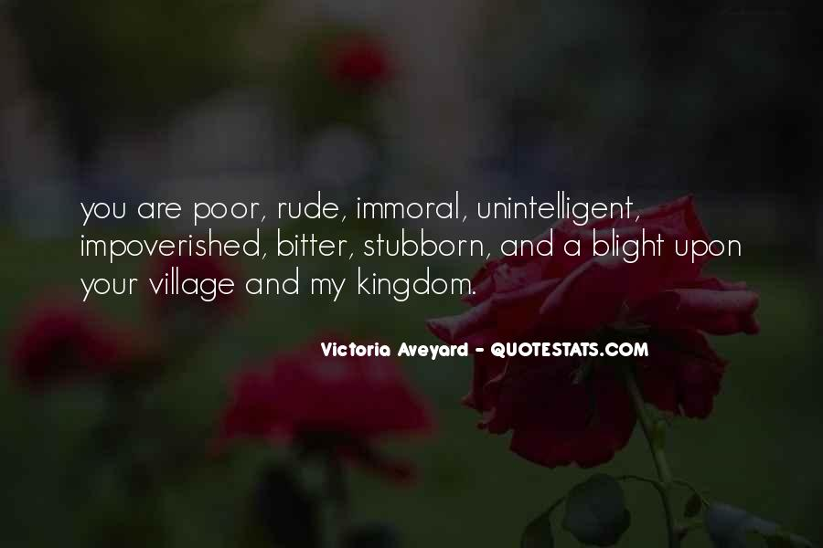 Impoverished Quotes #485746