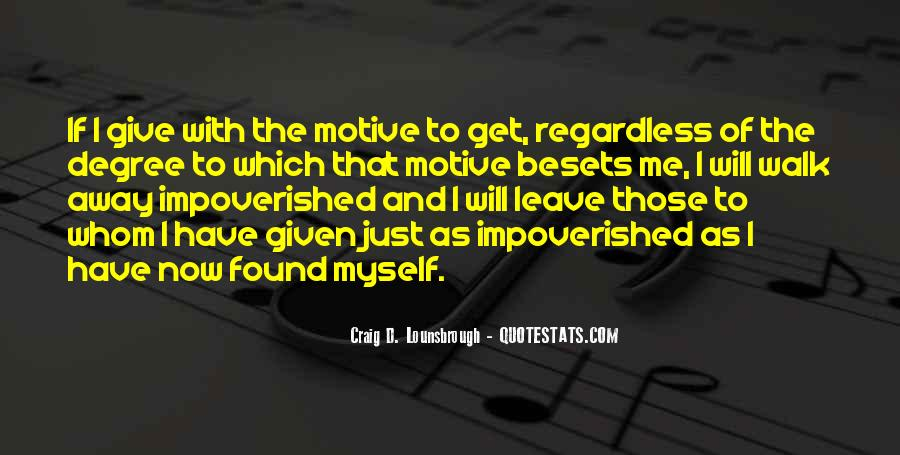 Impoverished Quotes #509955
