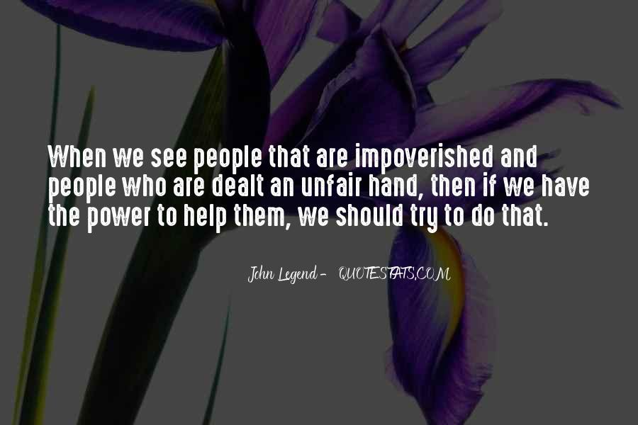 Impoverished Quotes #9304