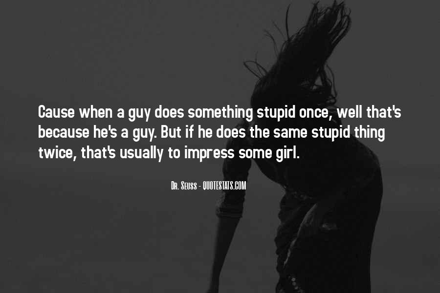 Impress A Girl With Quotes #1268225