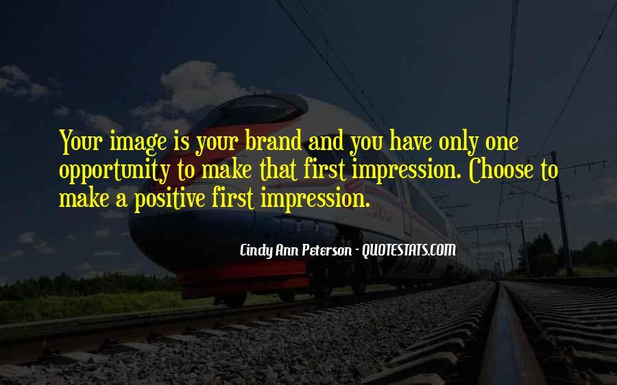 Impression Quotes #2835