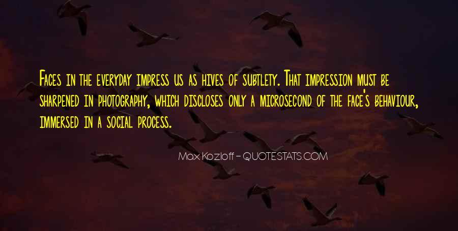 Impression Quotes #29631