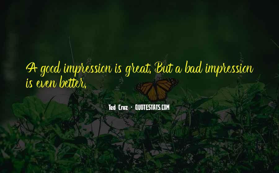 Impression Quotes #35519