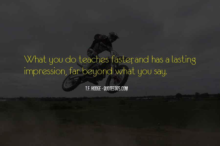 Impression Quotes #4751