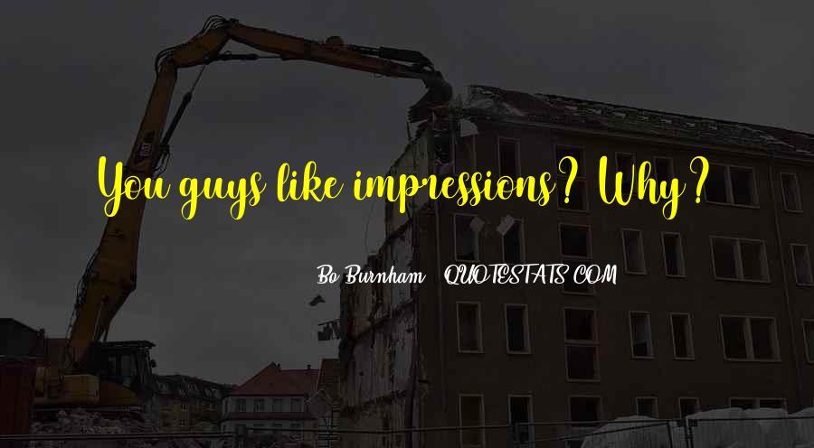 Impression Quotes #51303