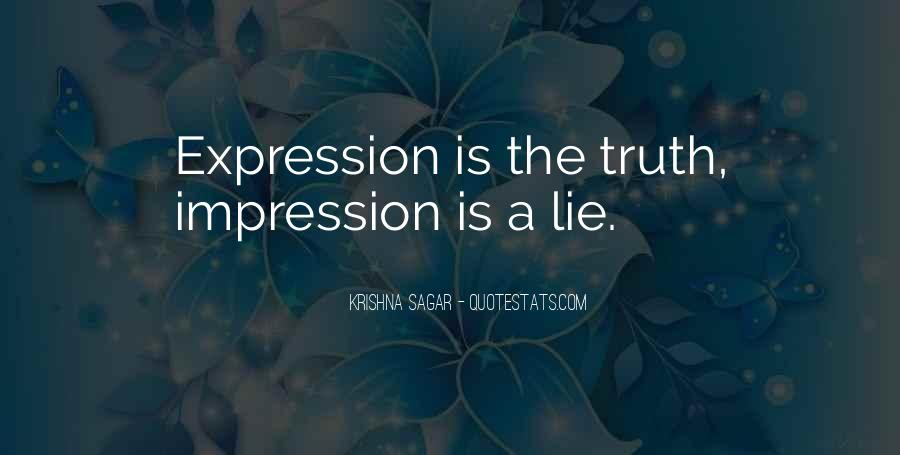 Impression Quotes #51514