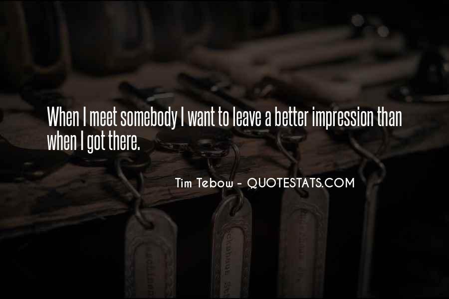 Impression Quotes #72214