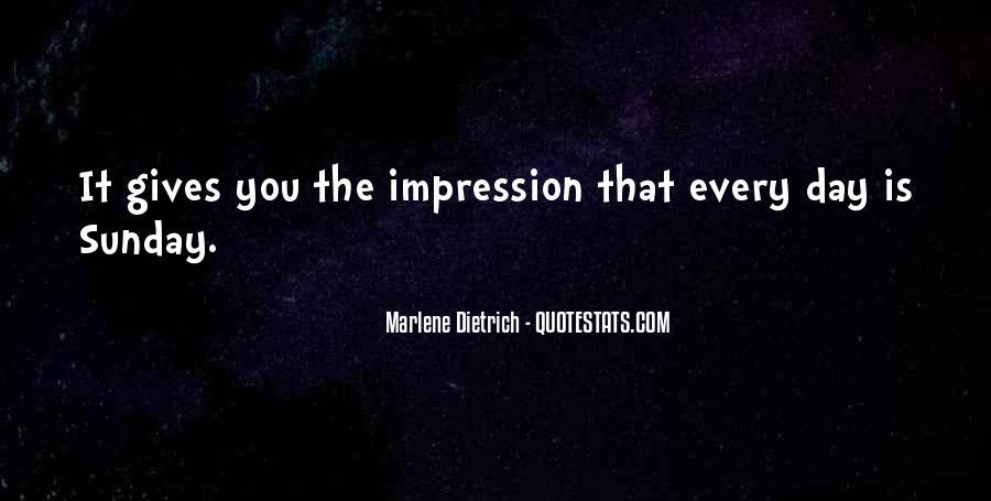 Impression Quotes #80798