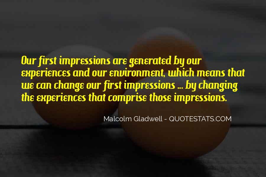 Impression Quotes #90005