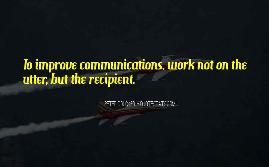 Improve Communication Quotes #1489473