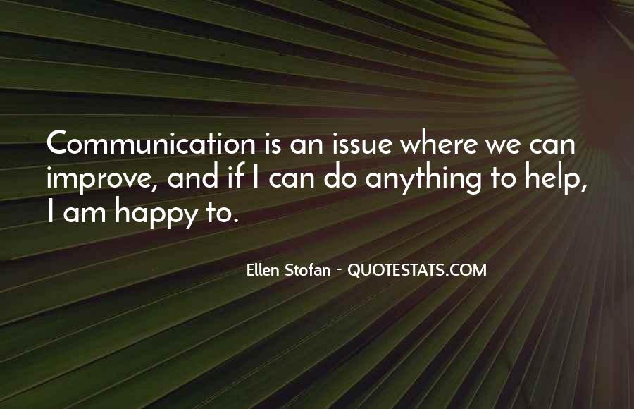 Improve Communication Quotes #892968