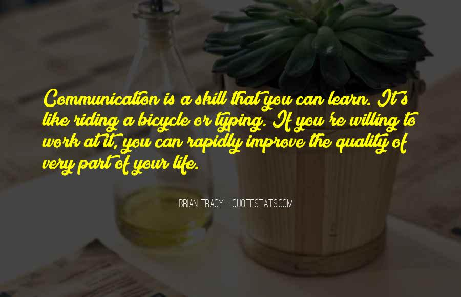 Improve Communication Quotes #913255