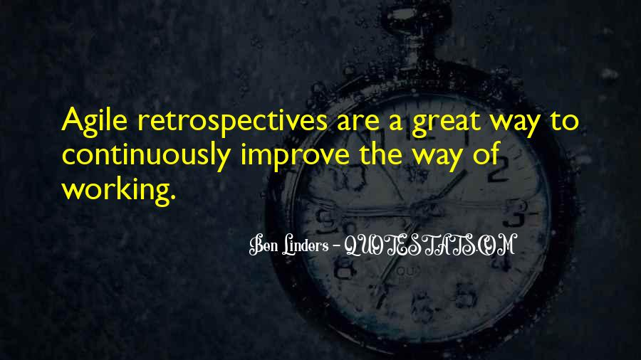 Improve Continuously Quotes #836751