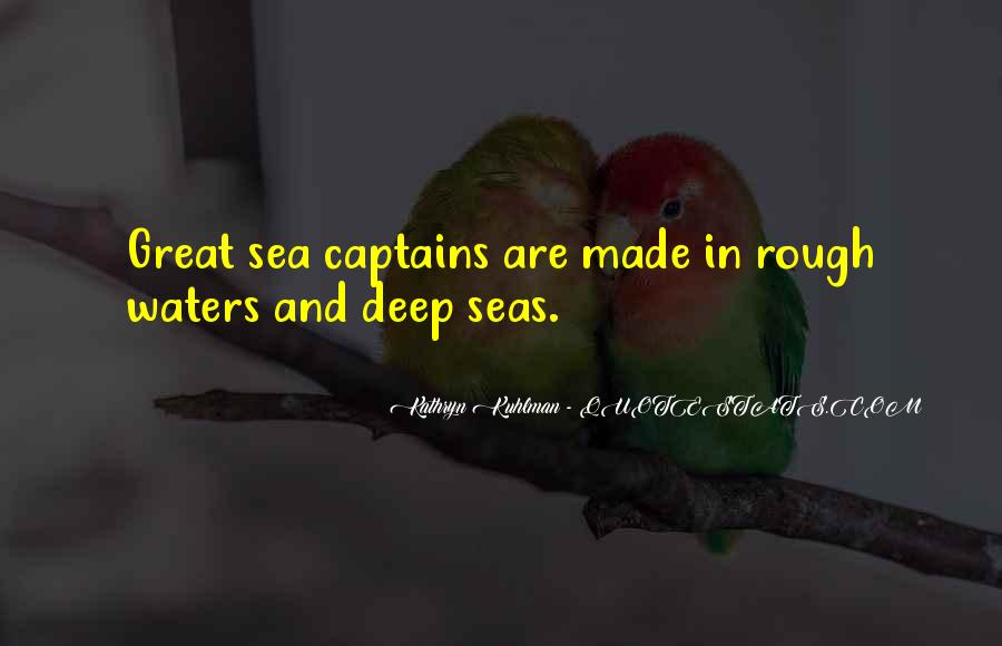 In Deep Water Quotes #1035538