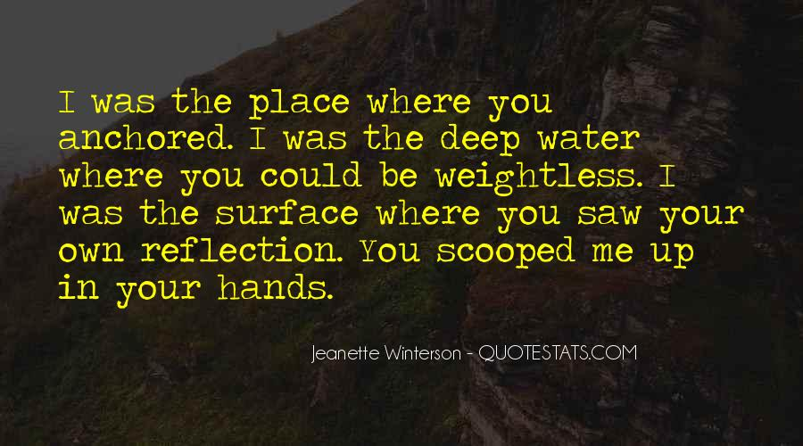 In Deep Water Quotes #1044572