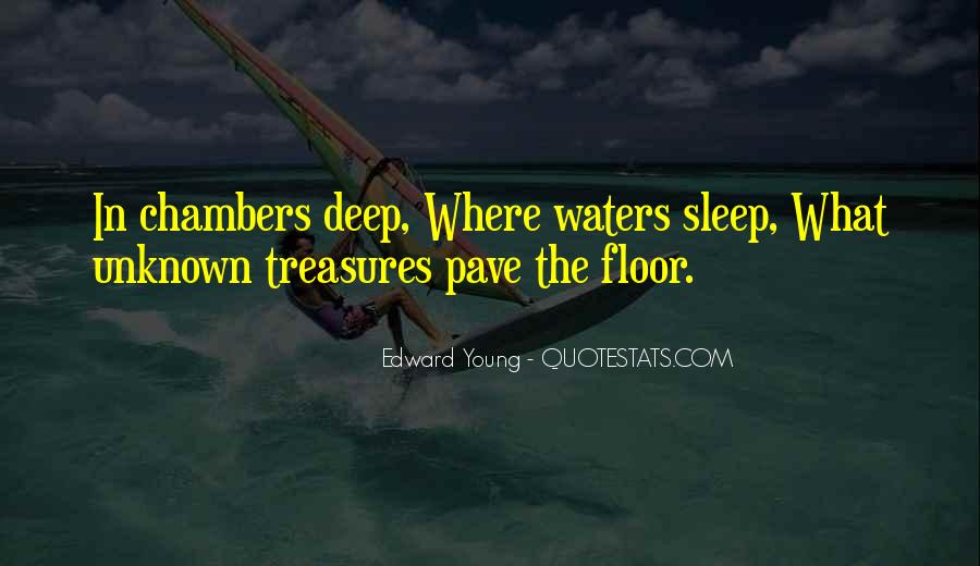 In Deep Water Quotes #1236220