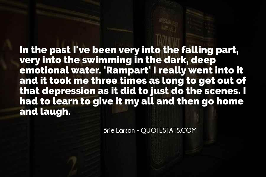 In Deep Water Quotes #1259893