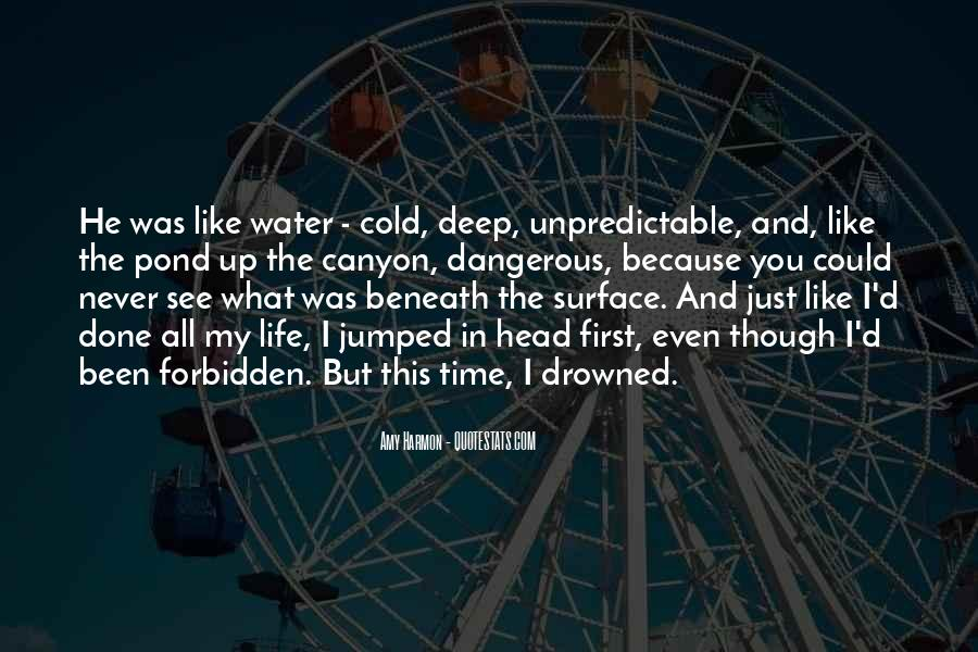 In Deep Water Quotes #1326165