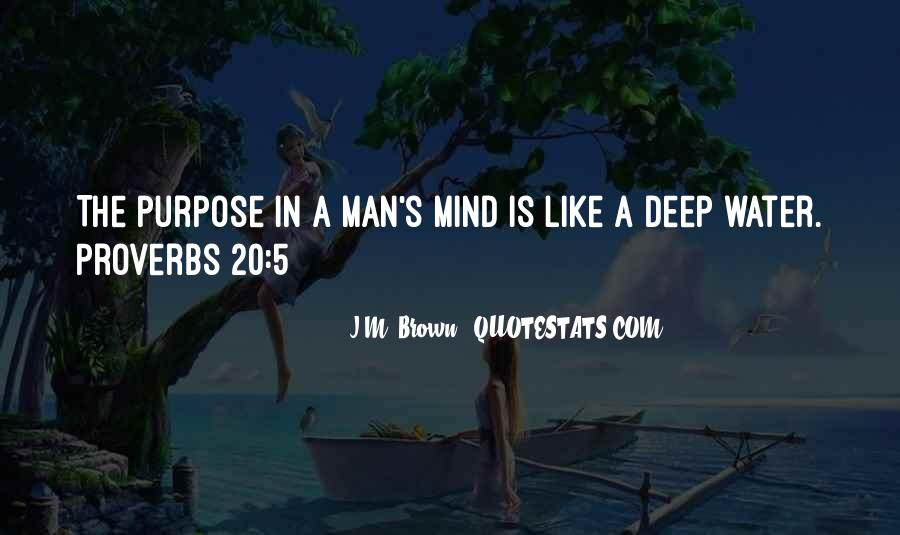 In Deep Water Quotes #1484527