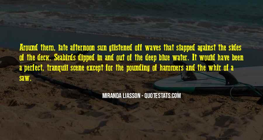 In Deep Water Quotes #1670470