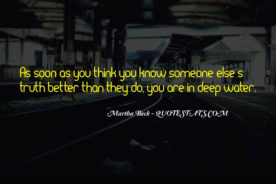 In Deep Water Quotes #1833536