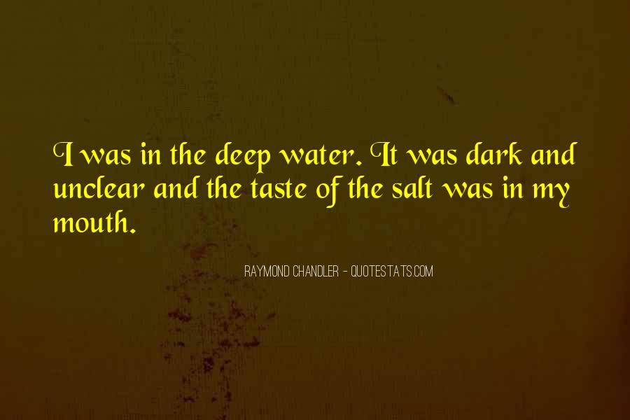In Deep Water Quotes #653428