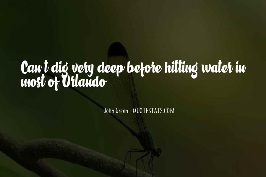 In Deep Water Quotes #660101