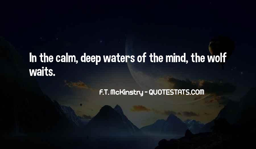 In Deep Water Quotes #685881