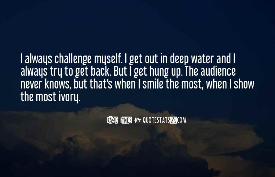 In Deep Water Quotes #704533
