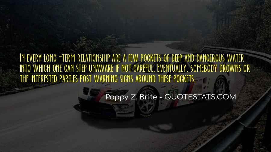 In Deep Water Quotes #707038