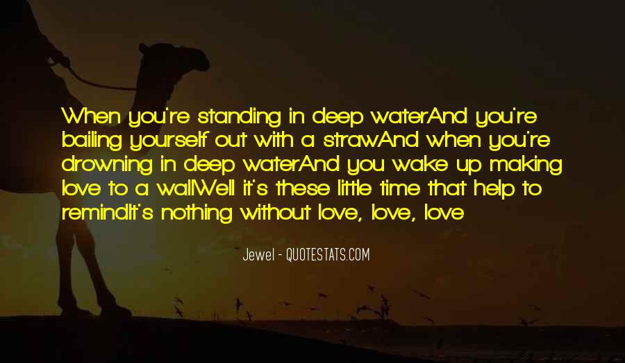 In Deep Water Quotes #841196