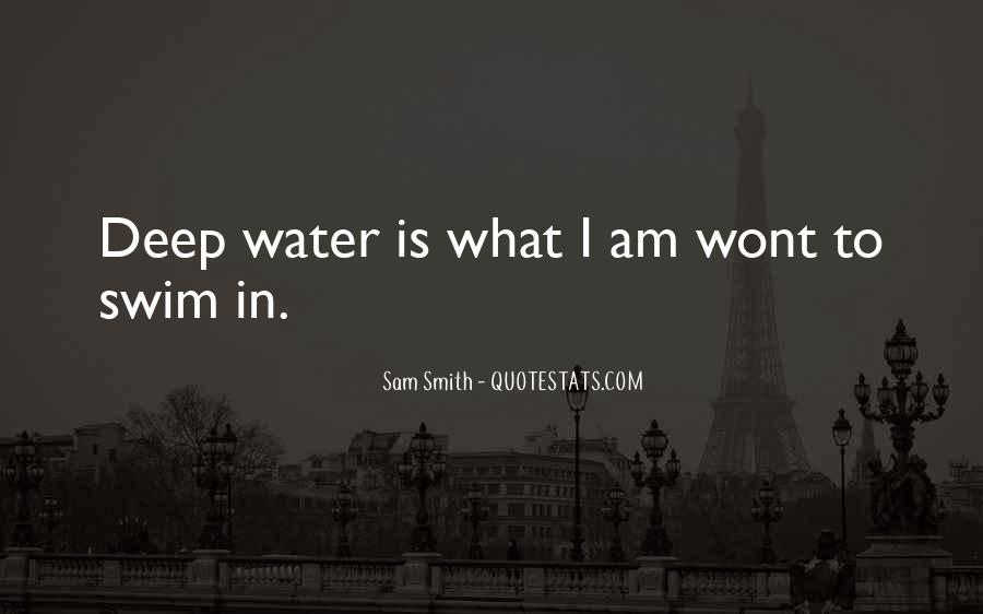In Deep Water Quotes #963633