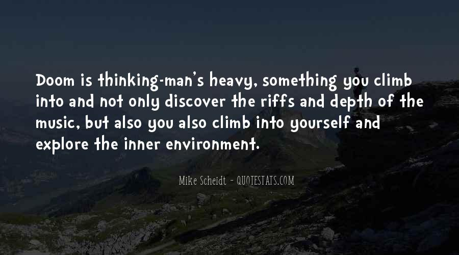In Depth Thinking Quotes #1269600