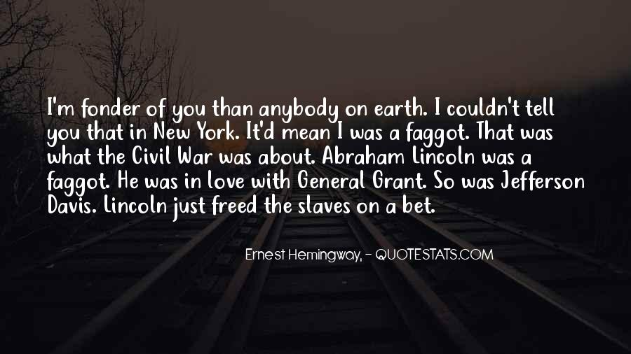 In Love And War Hemingway Quotes #1352596