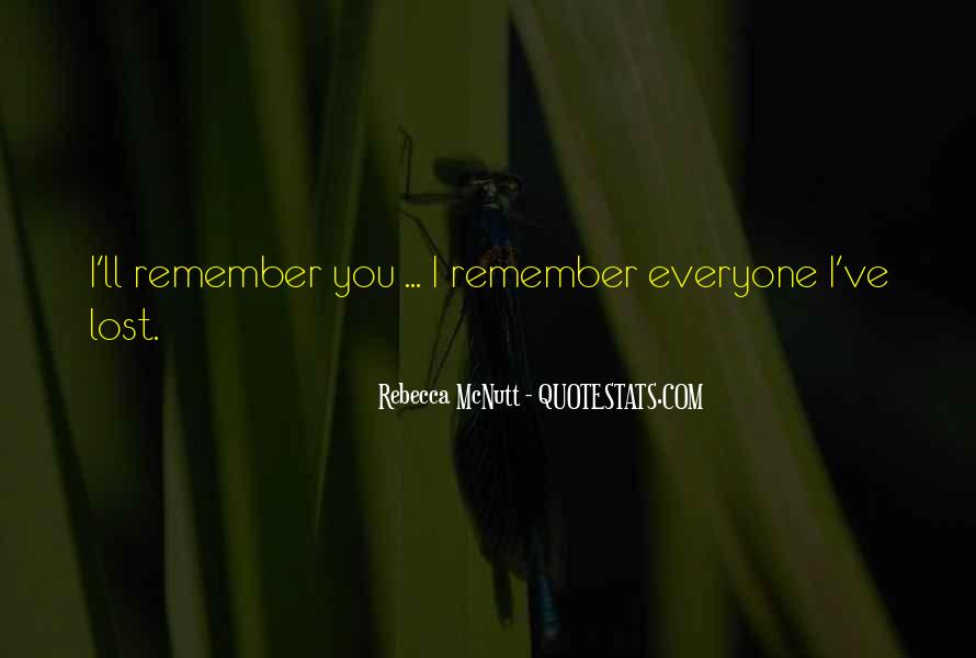 In Memory Of Friendship Quotes #1844129