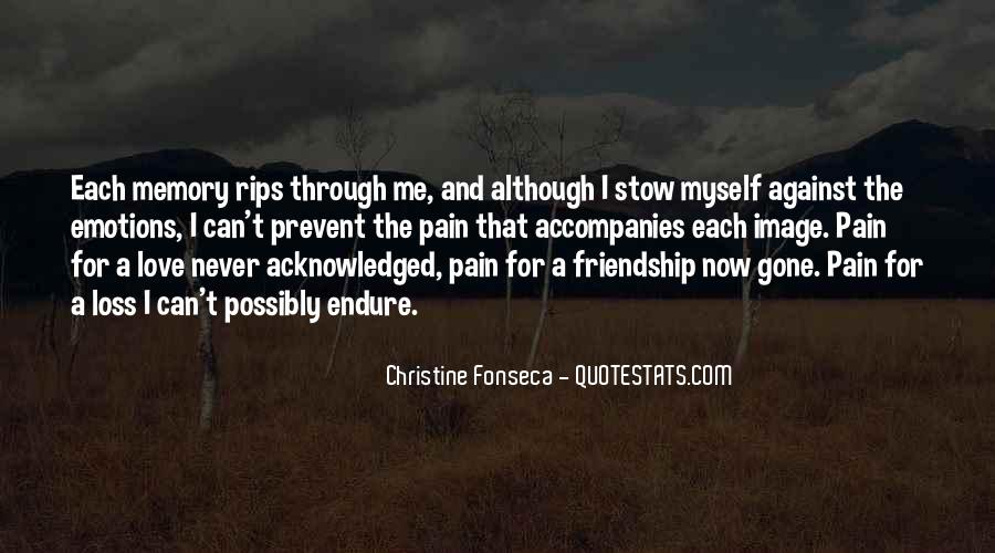 In Memory Of Friendship Quotes #269754