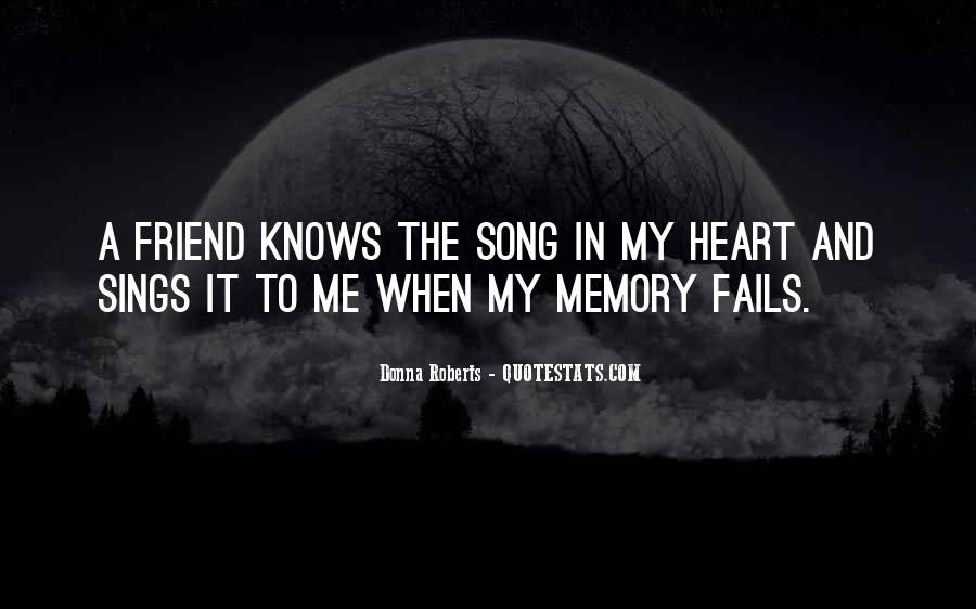 In Memory Of Friendship Quotes #327942